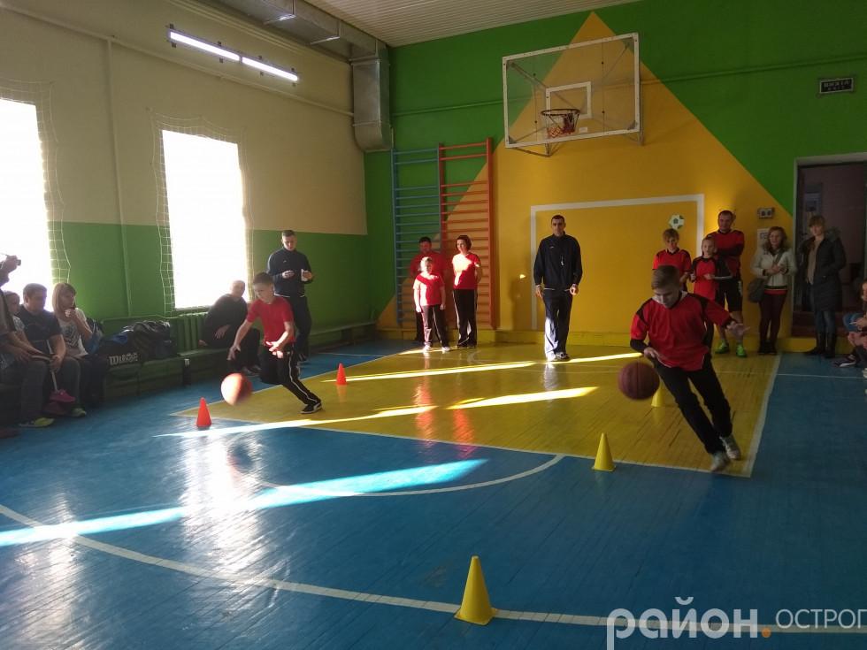 Змагання з елементами баскетболу