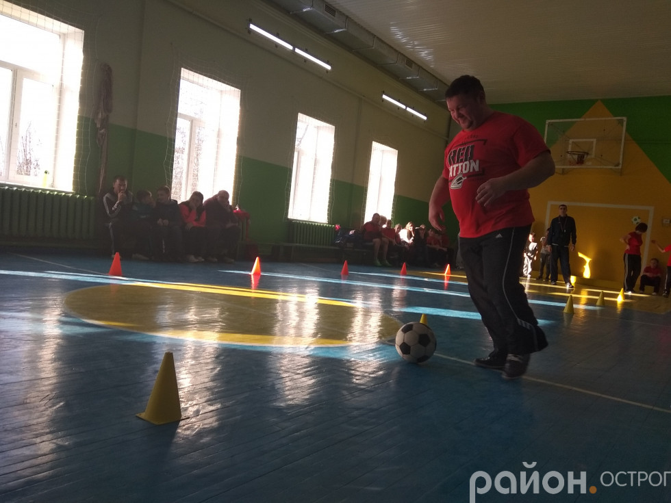 Ведення м'яча