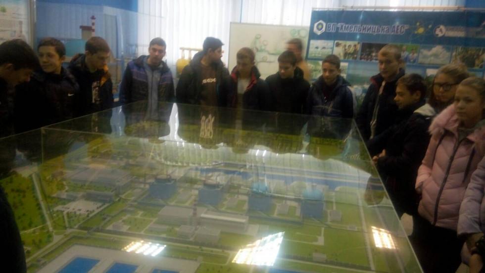 Вивчення будови та принципів роботи атомної електростанції
