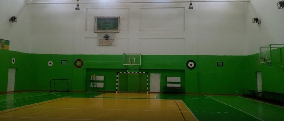 Спортивна зала, у якій зіграють збірні Острожчини