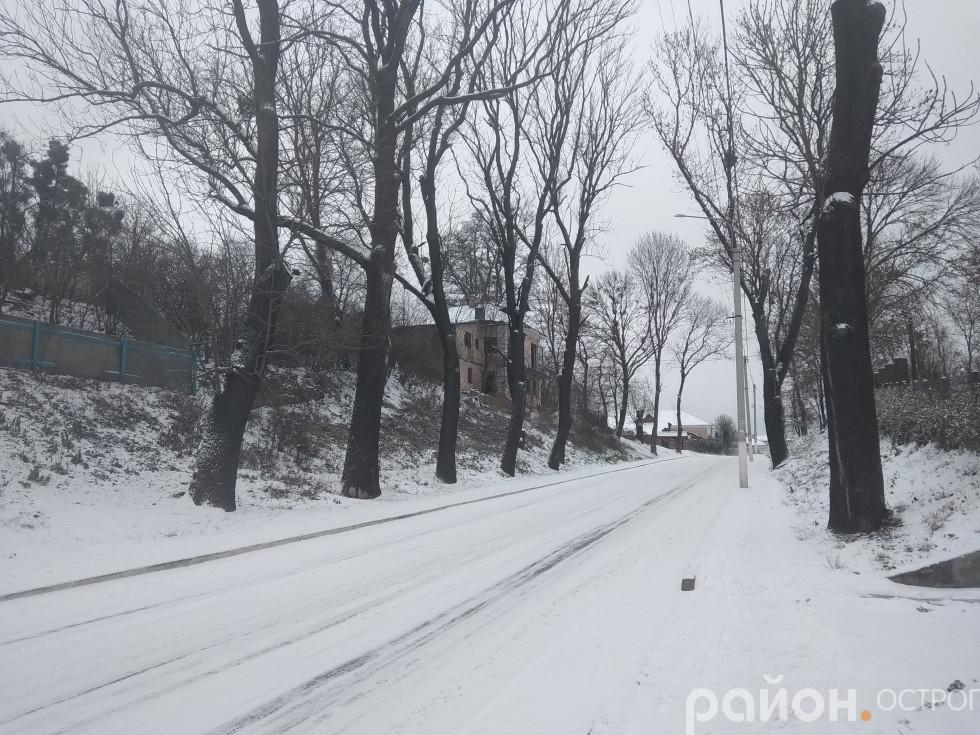 Вулиця Князів Острозьких