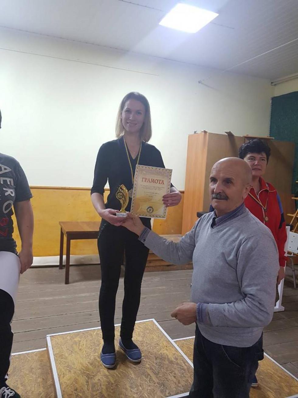 Нагороду отримує Наталія Бойчук