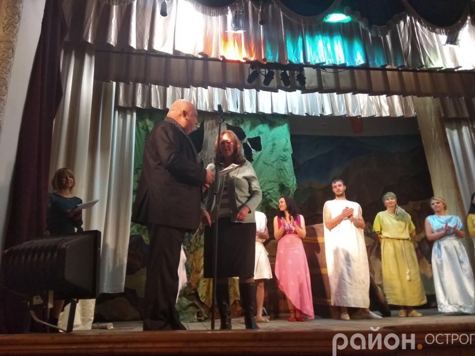 Атестаційне свідоцтво театру отримує Алла Матвіїва