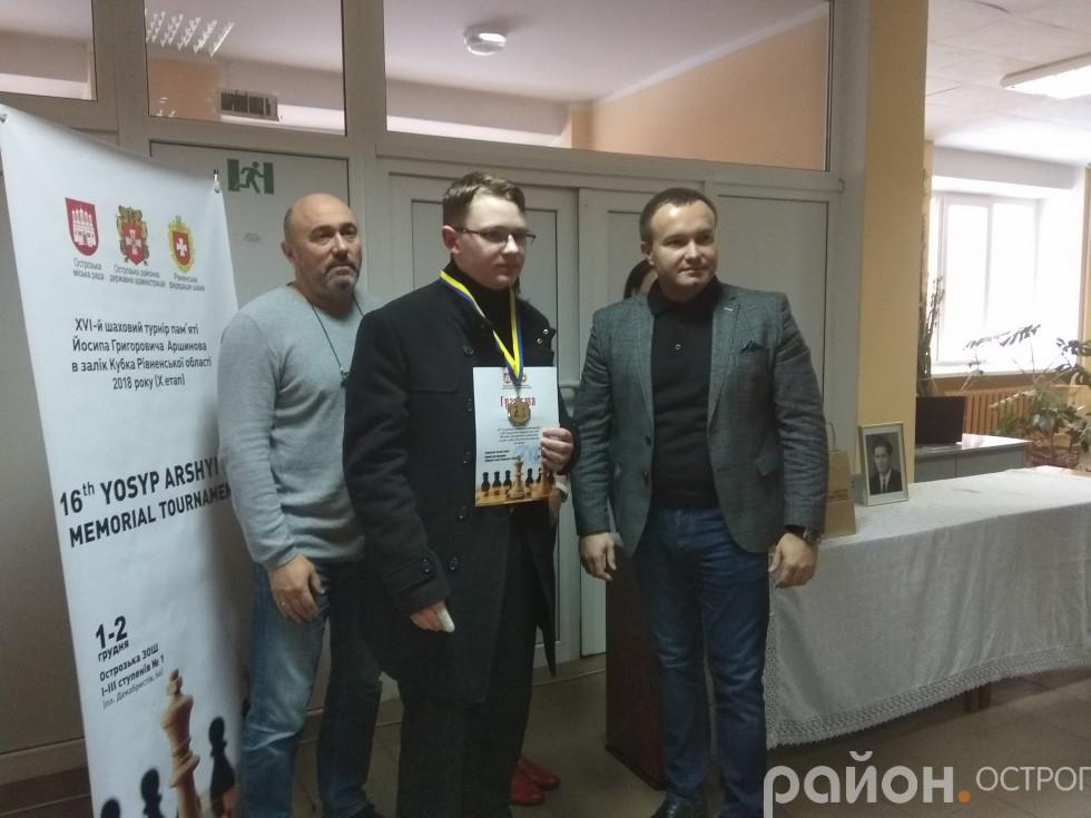 Северин Смикало отримав заслужену нагороду