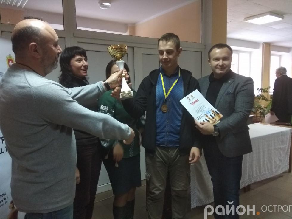 Переможець турніру Володимир Янюк