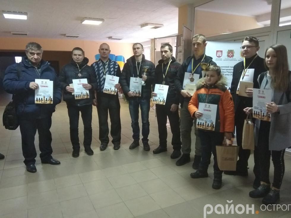 Переможці та призери турніру