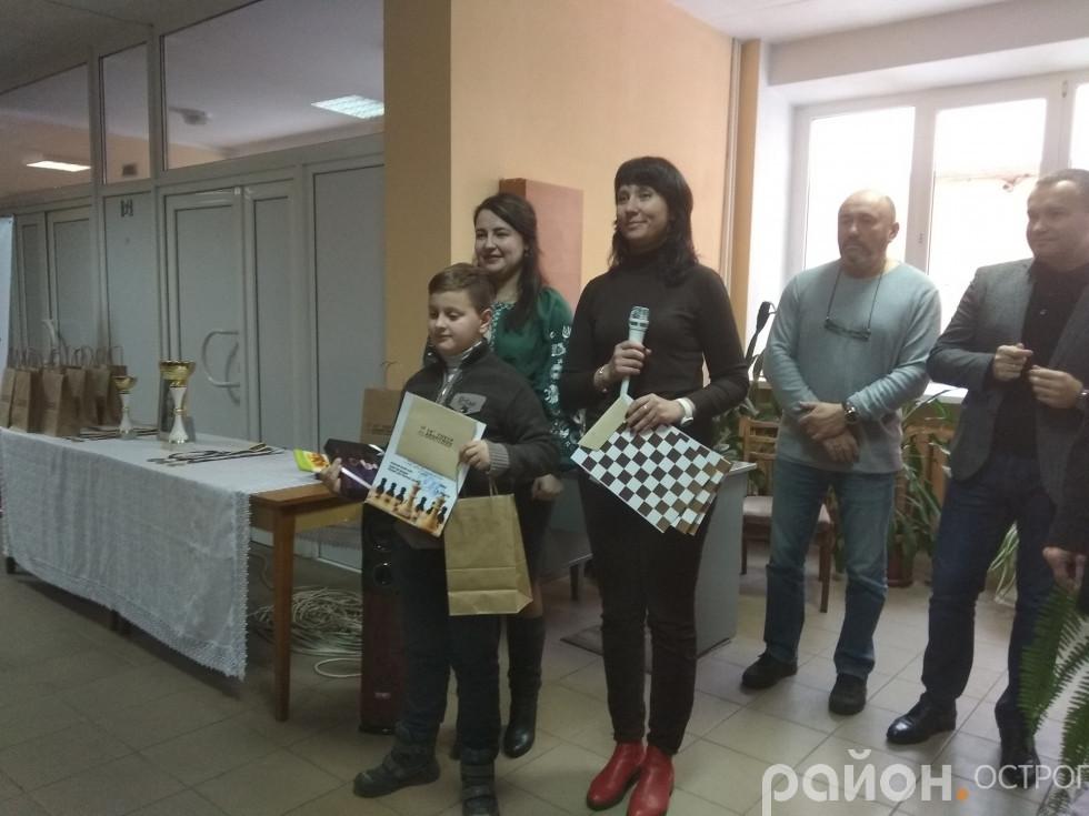 Переможець з-поміж наймолодших учасників Іван Івкевич