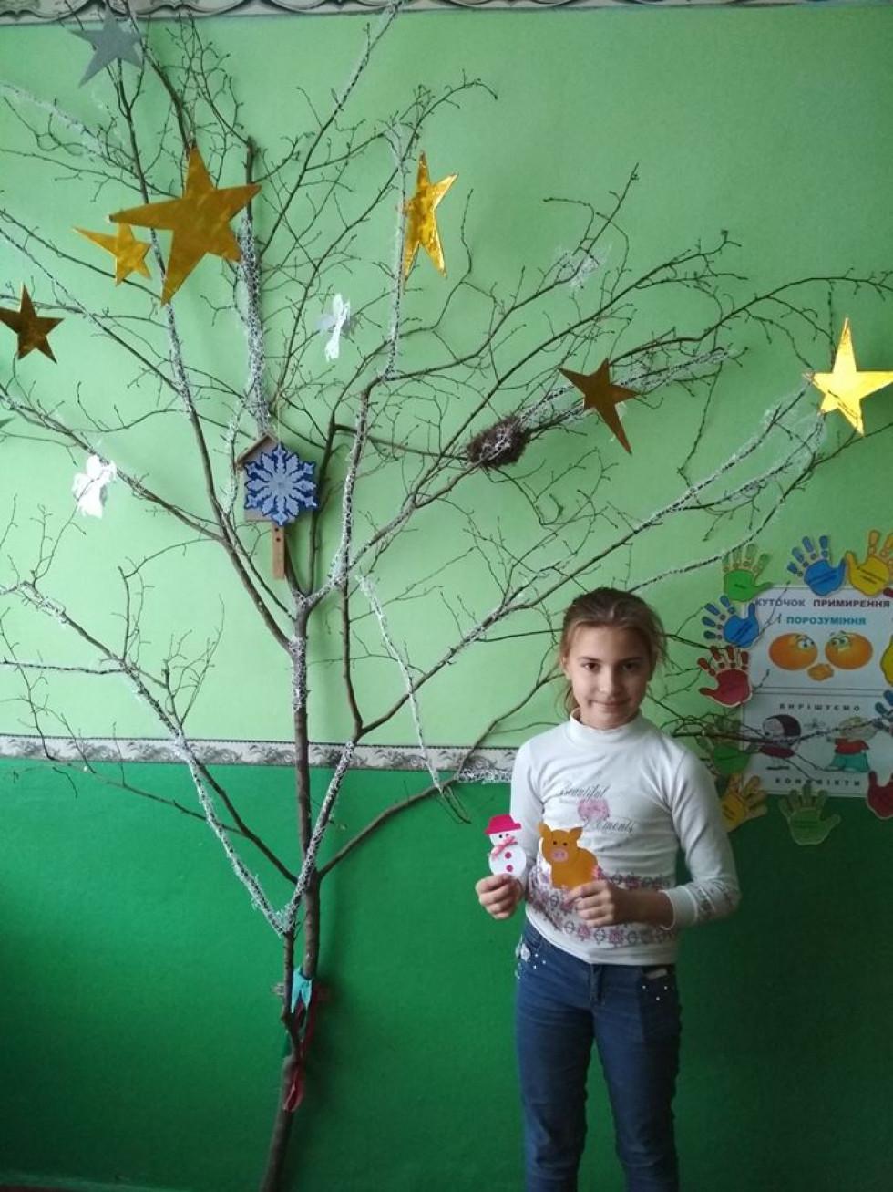 Тематичне зимове дерево