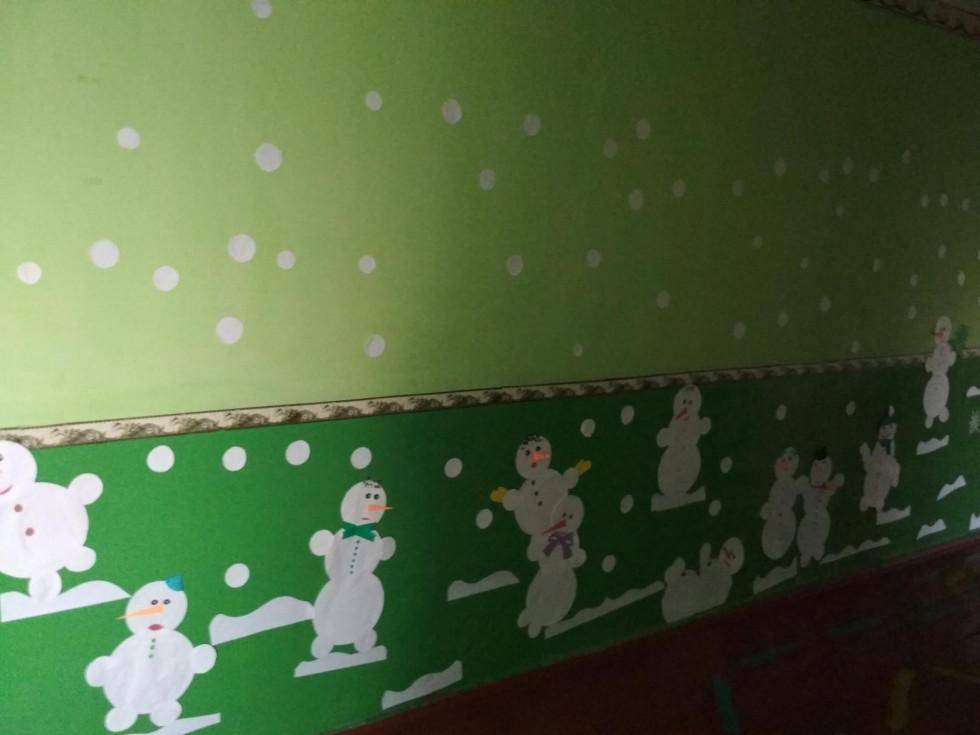 У Грем'яцькій ЗОШ з'явилися сніговики
