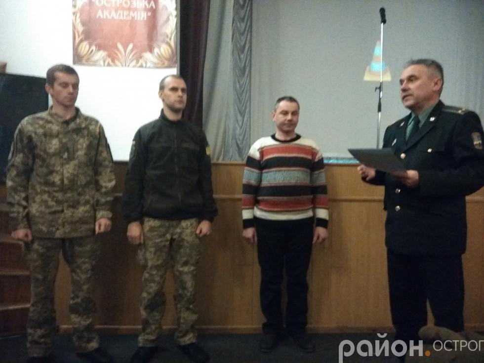Гордість ліцею - випускники та педагог, які захищали Україну
