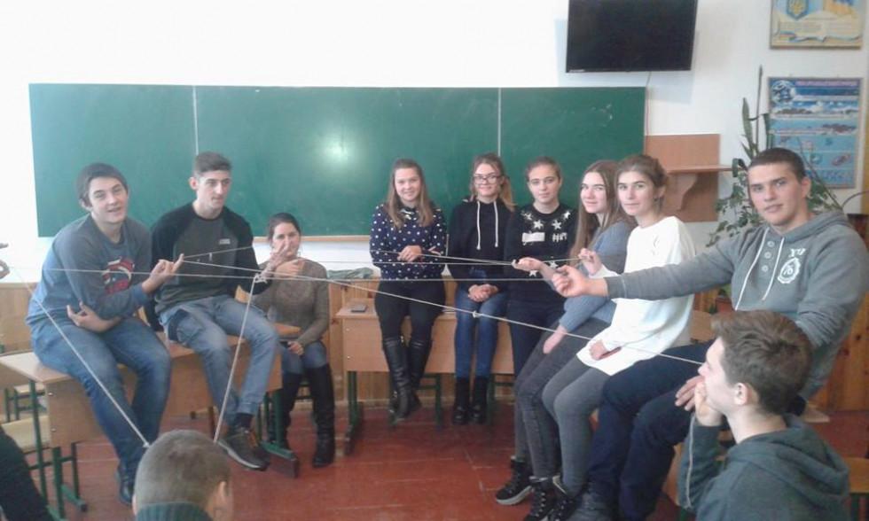 Тренінг для хорівських школярів