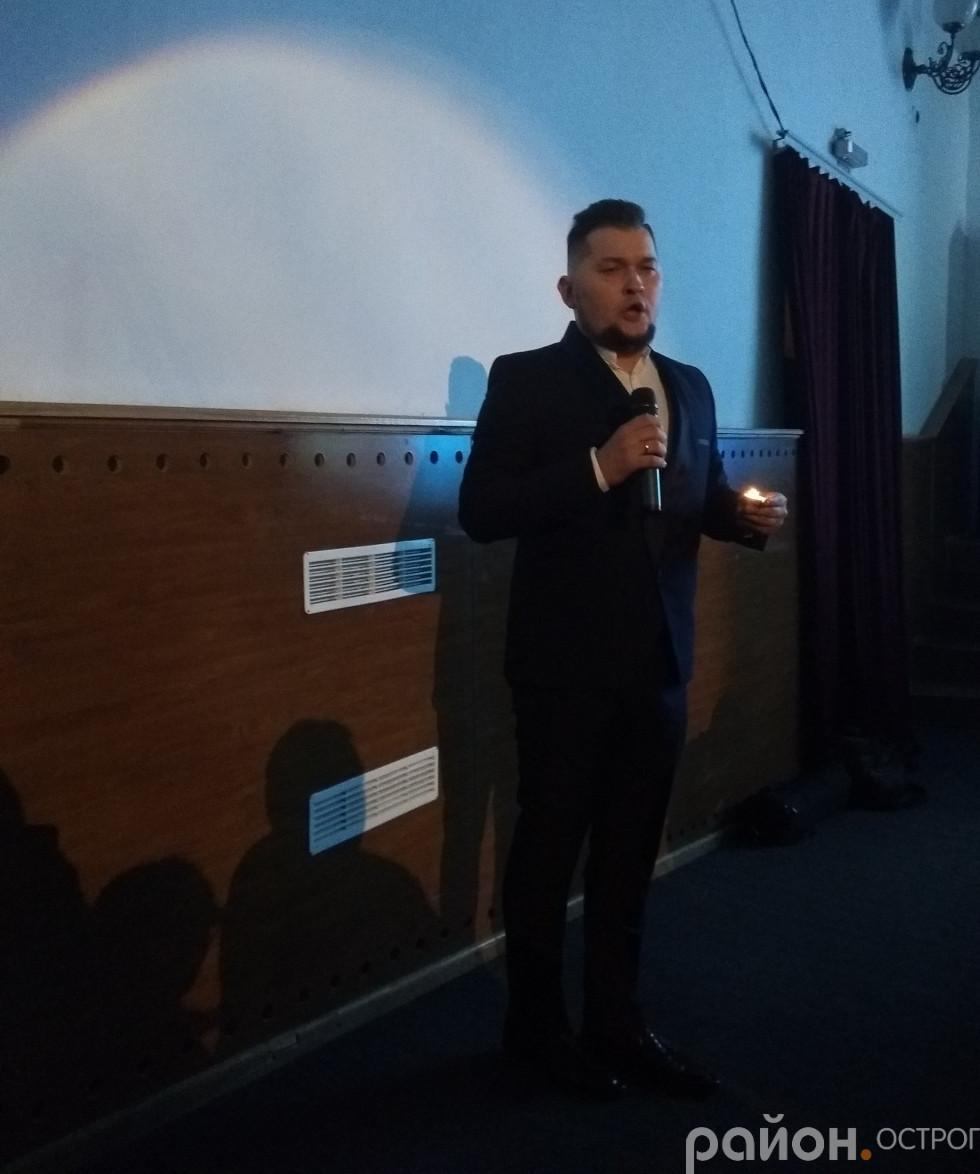 Ростислав Кушина неодноразово спускався в зал