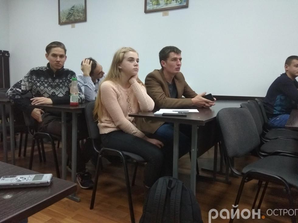 На презентацію Молодіжної ради завітали активісти міста й університету