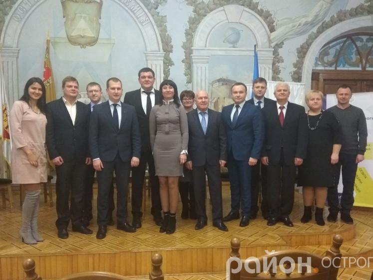 Учасники Ради регіонального розвитку в Острозі