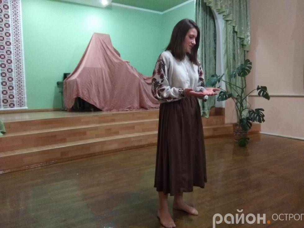 Маруся Чурай у виконанні Діани Стаднікової