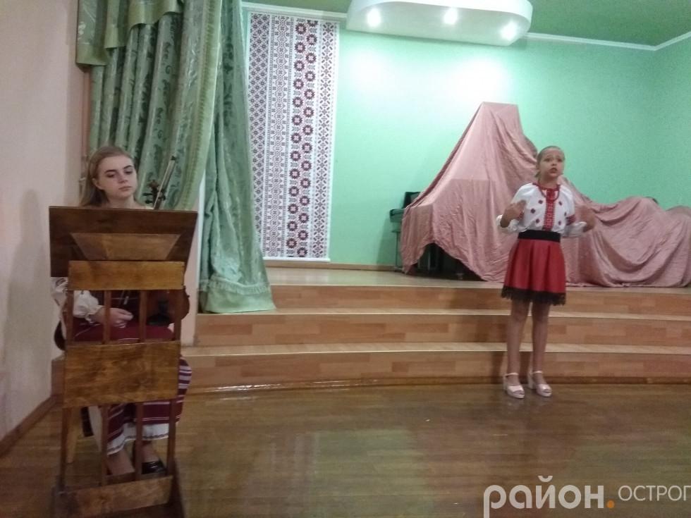 На сцені ожили українські народні казки