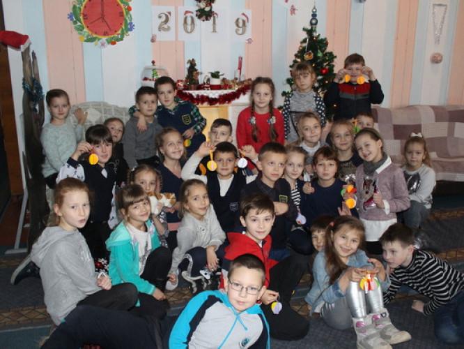 В Острозькій ЦРБ уже панує новорічний настрій
