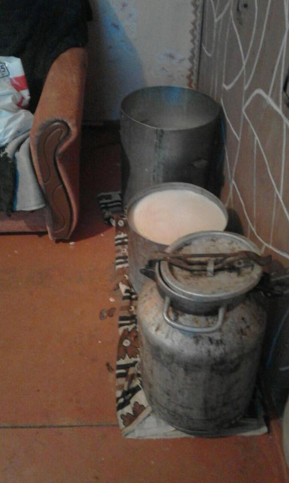 Виявлена закваска для самогону