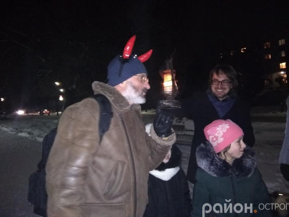 Пошукам Миколая перешкоджає Чортик