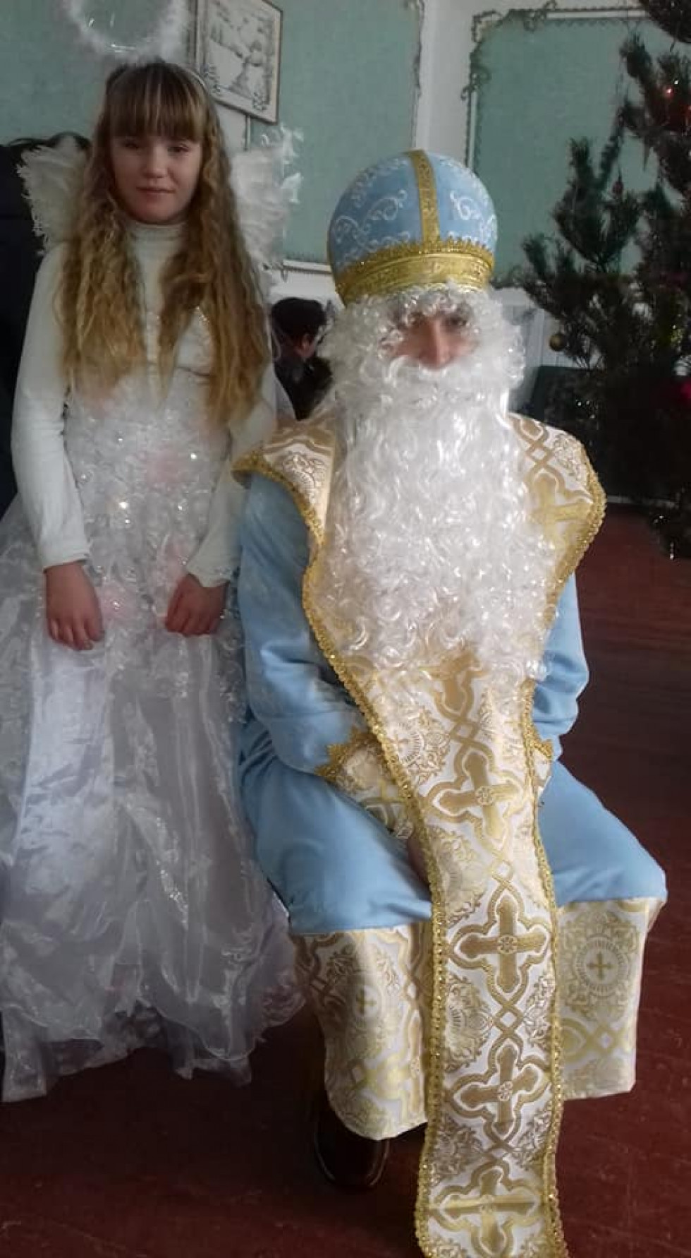 Білашівський Миколай та ангелик