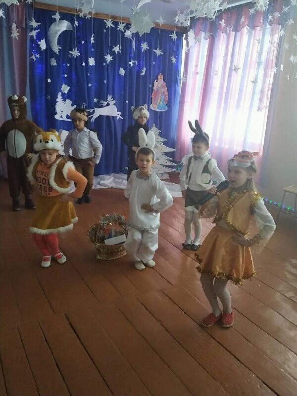 Малюки в Слобідці тішать святого талантами