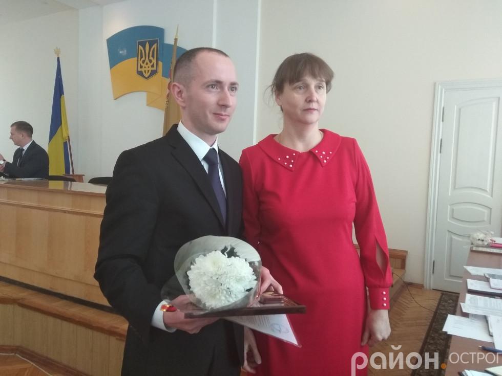 Грамотою нагороджений Андрій Кордиш