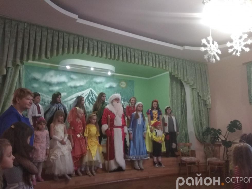 Театрали, які підготували свято