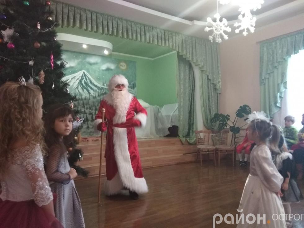 На свято завітав Дід Мороз