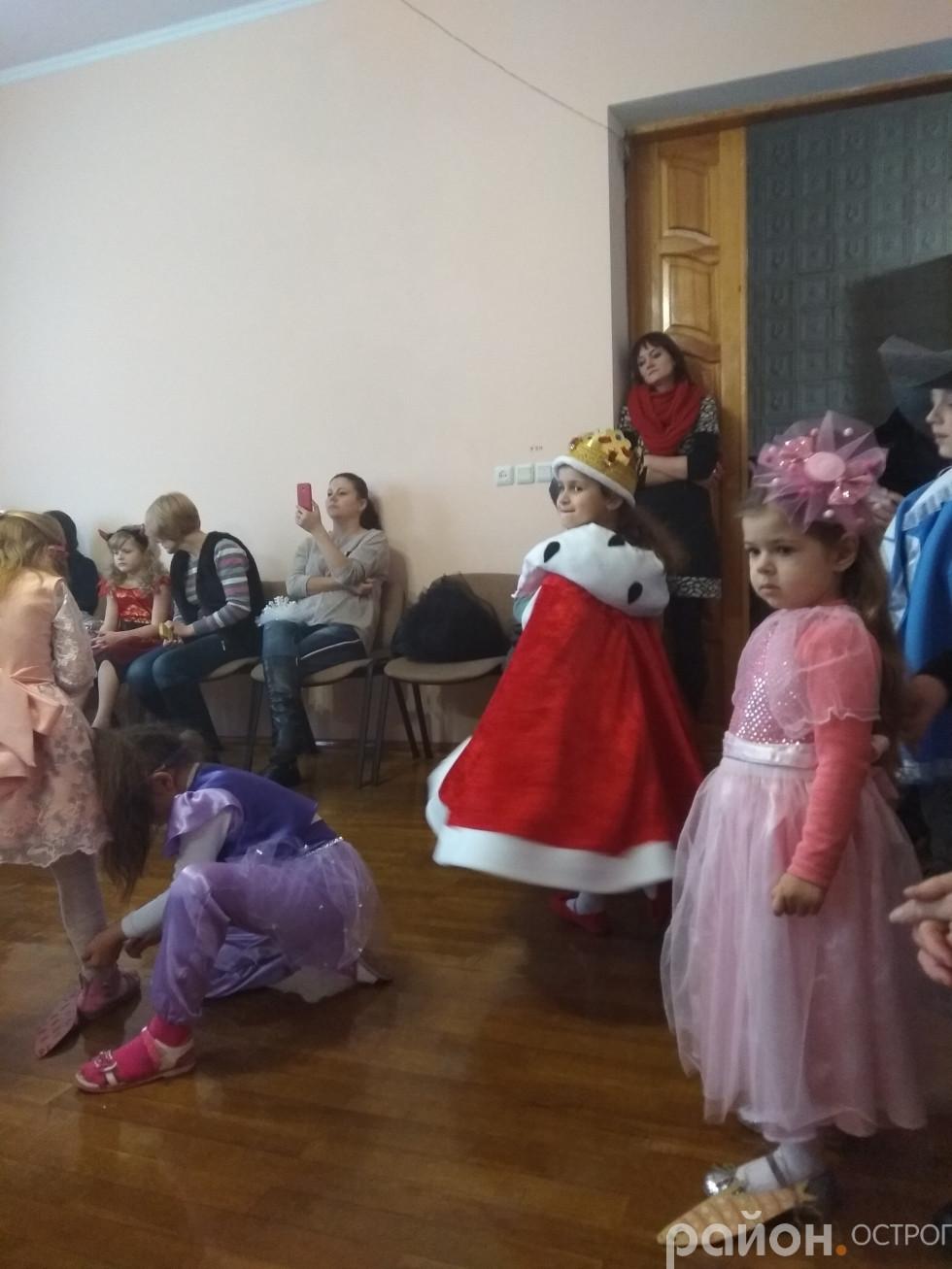 Маленькі гості Острозької ДШМ