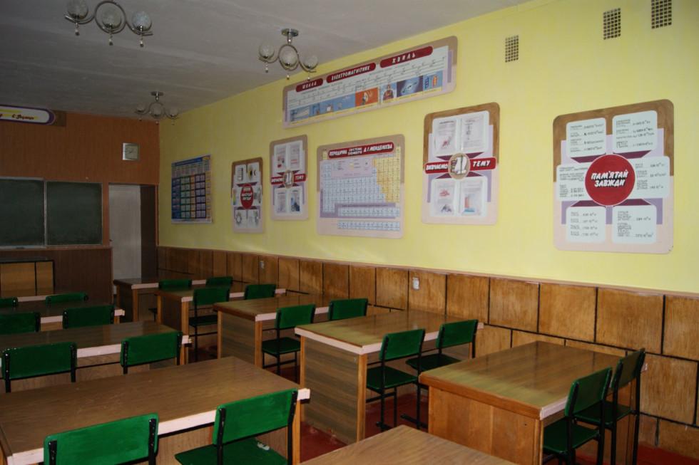 Класна кімната закладу