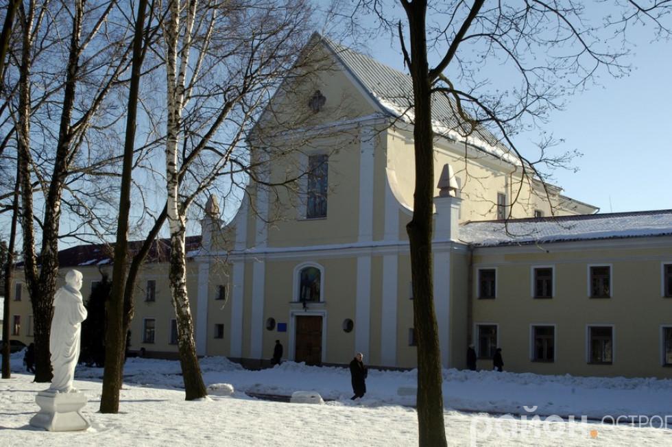Студентсько-викладацький храм преп. Федора Острозького