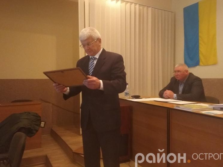 Відзнаки вручив Олександр Шикер