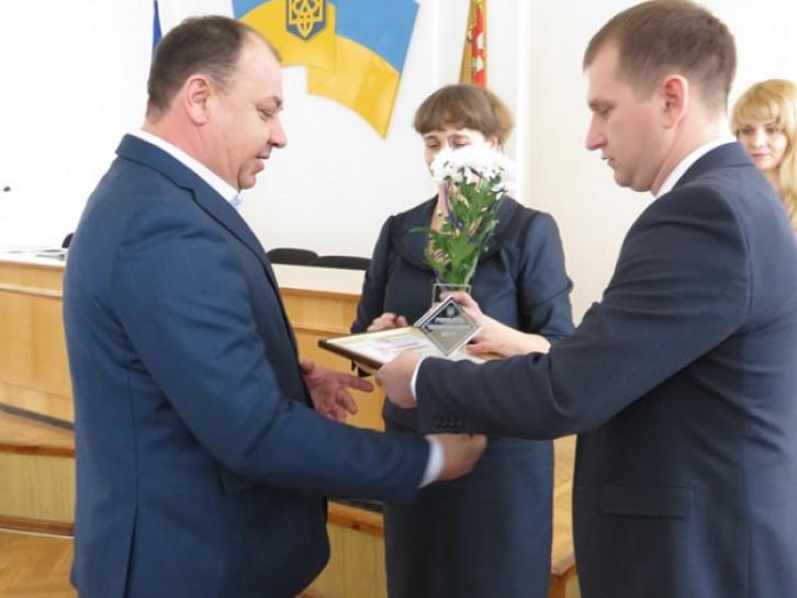 Миті нагородження переможців конкурсу «Гордість Острожчини - 2017»
