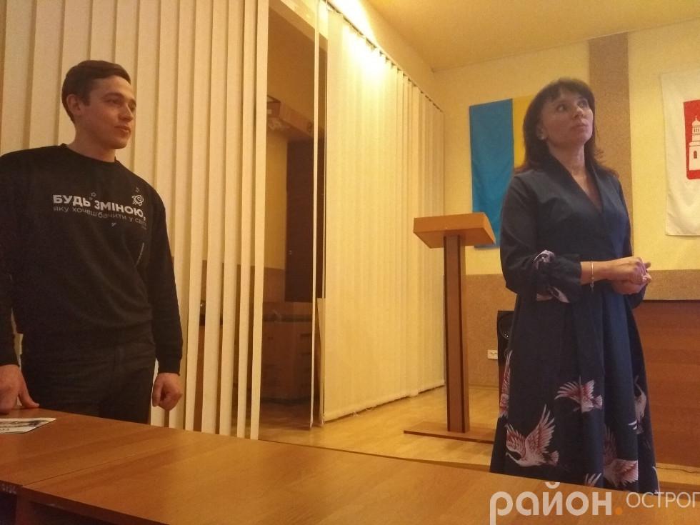 Оксана Ситницька зустрілася з БУРівцями