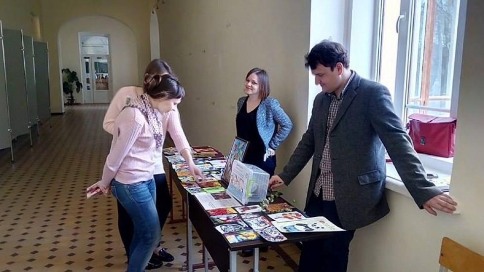 Благодійна ярмарка організована Братством спудеїв