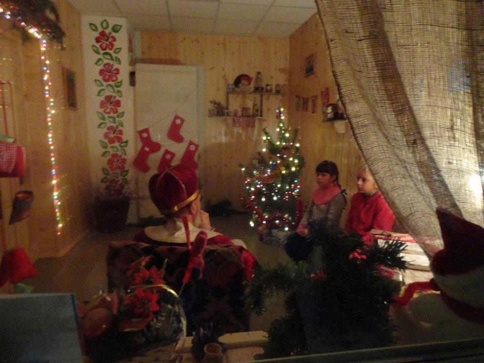 Поїздка новаків у резиденцію св. Миколая