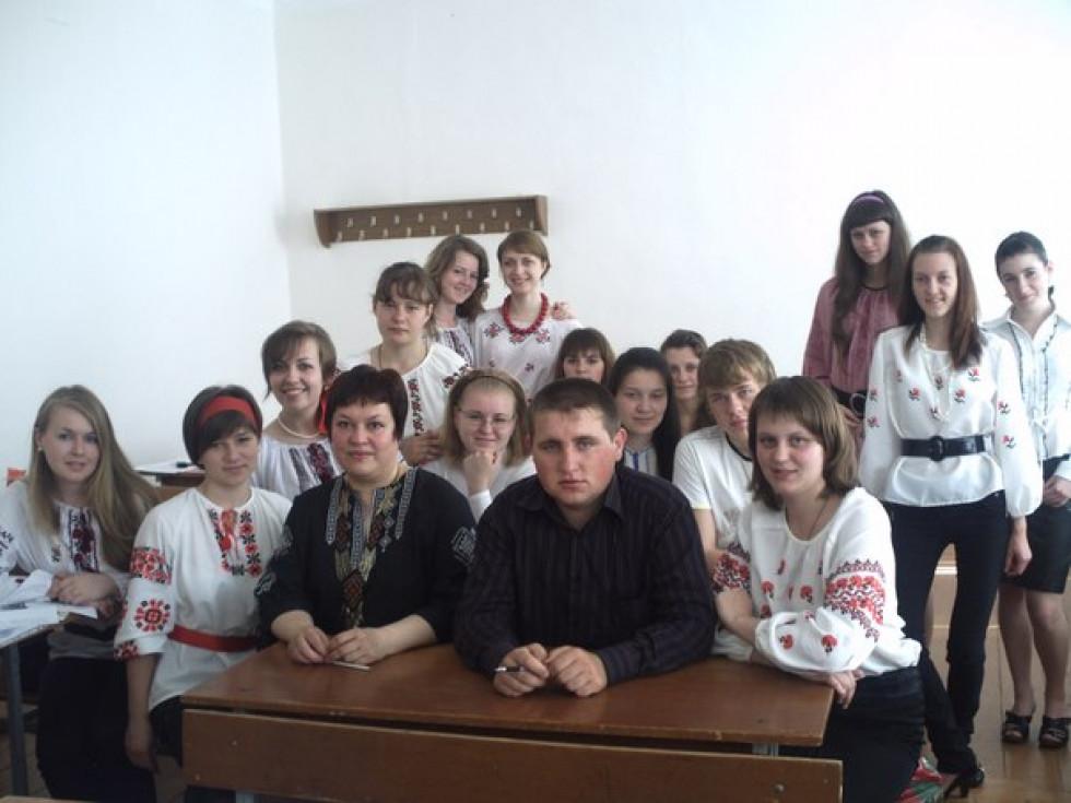 ФОТОАРХІВ. Заняття із діалектології, 2009 рік
