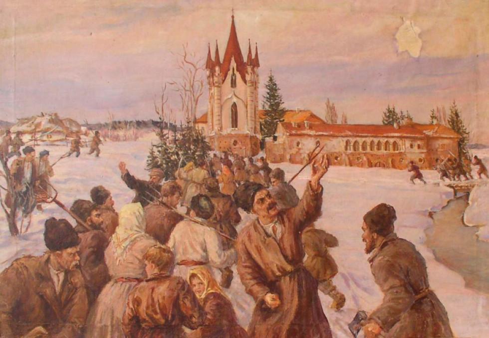 Л.І. Спаська. Повстання в селі Новомалин.