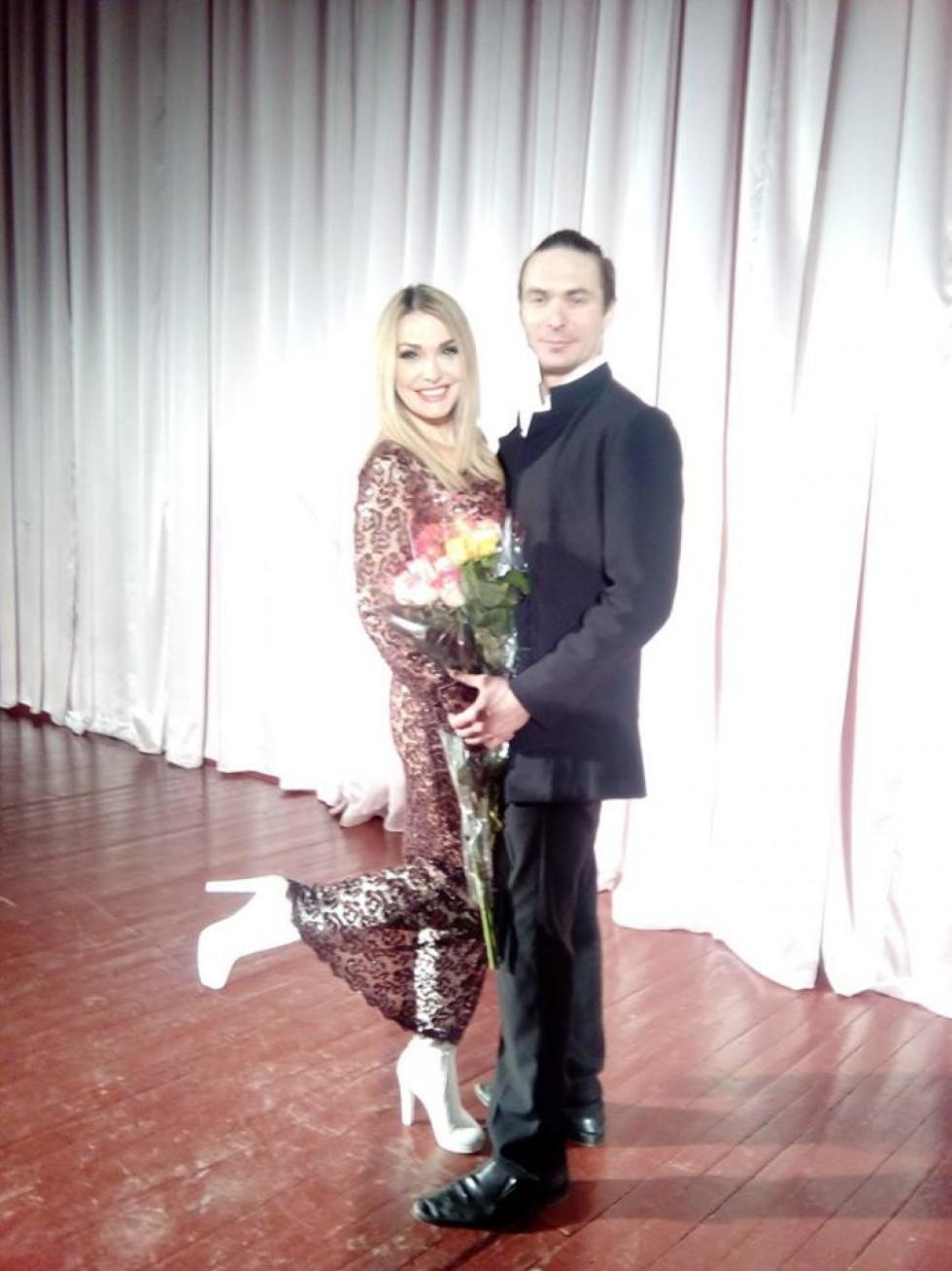 Ольга Сумська та Олексій Авраменко - виконавці головних ролей у виставі «Майстер і Маргарита»