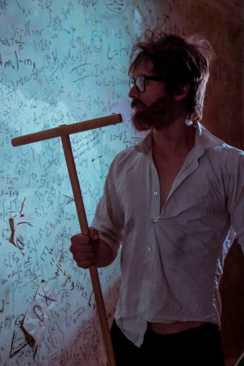 Олексій Авраменко, кадр із короткометражного фільму «Бездоганне самообслуговування»