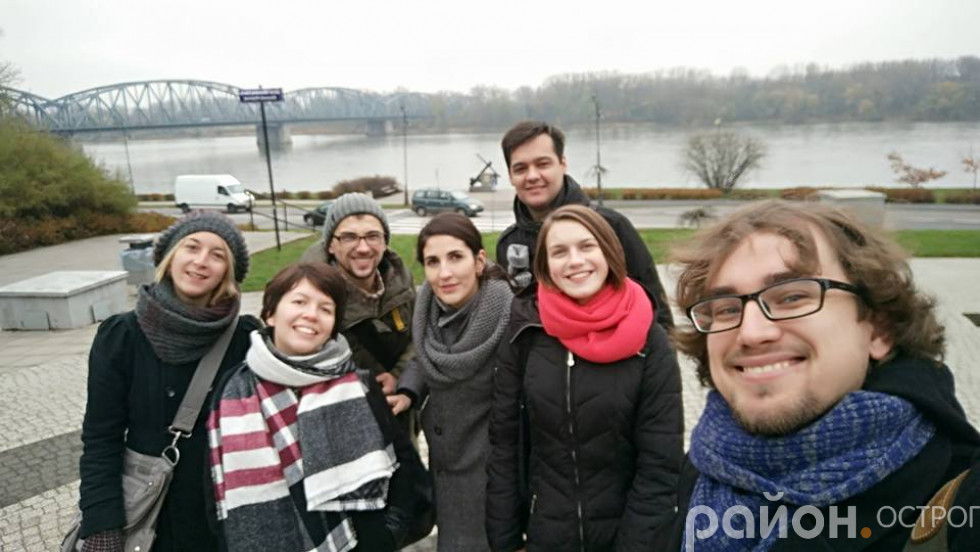 Молодь Острога у Польщі