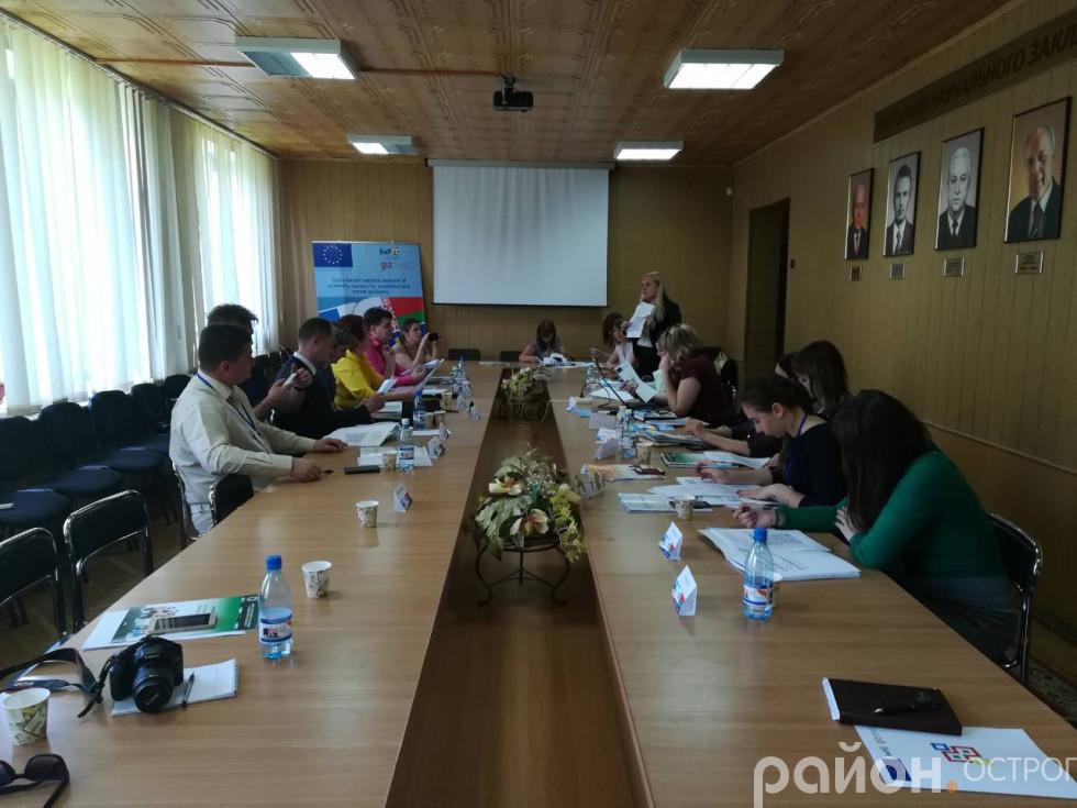 Під час відкриття Центру професійної орієнтації та консультування