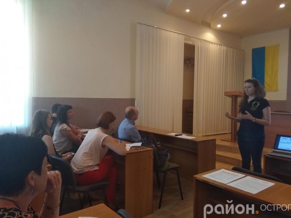Результати моніторингу представляє Марія Цип'ящук