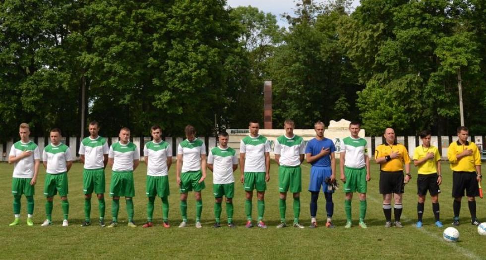 ФК «Вельбівно» перед матчем