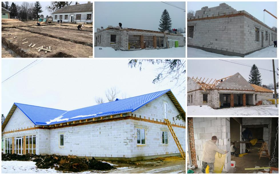 Будівництво амбулаторії в селі Плоске