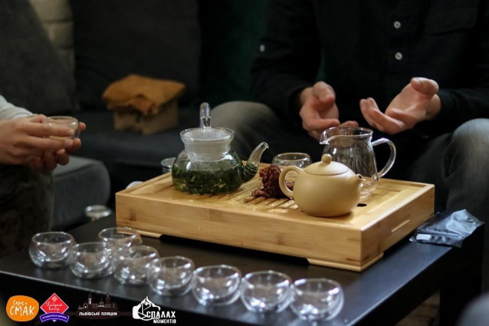 Чайна церемонія на Razom Party²