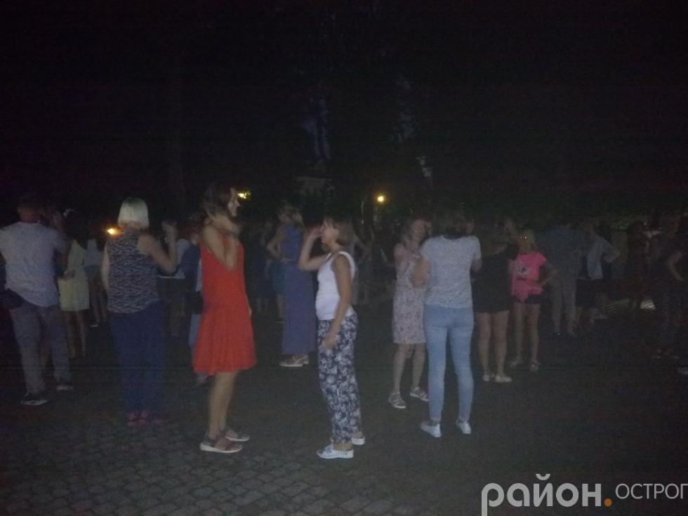 Українські народні танці просто неба