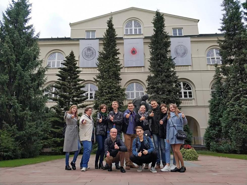 Фотоархів. Студенти й викладачі НаУОА в Любліні в межах українсько-польського проєкту