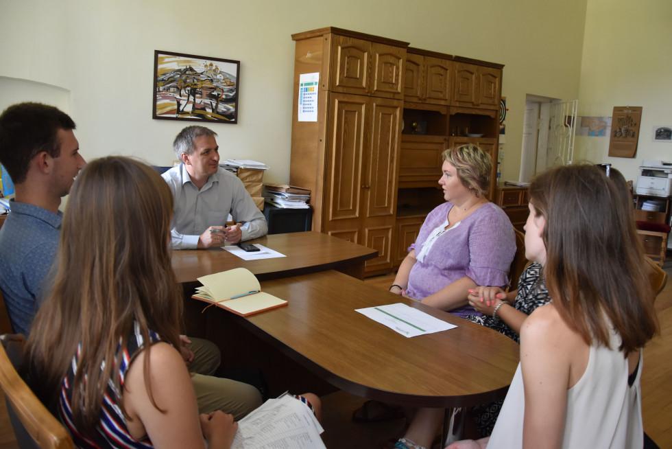 Обговорення спільних проєктів в Острозькій академії