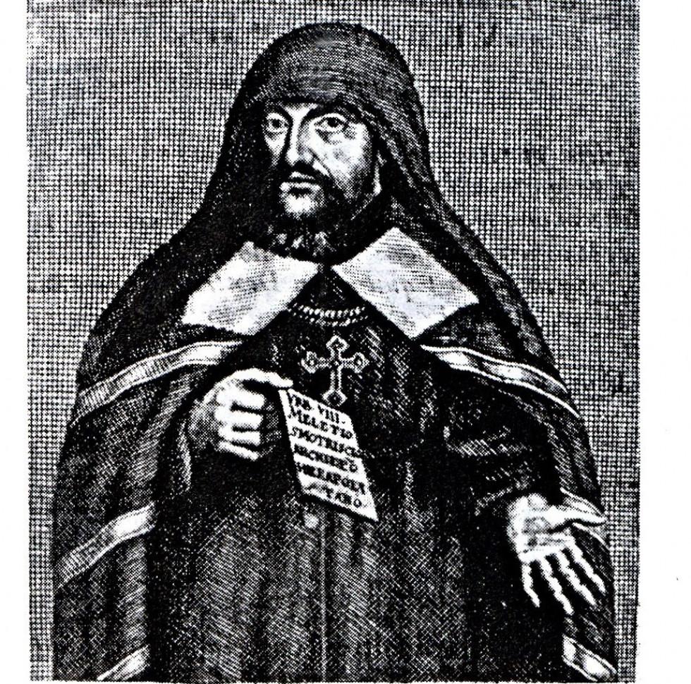Мелетій Смотрицький. Гравюра 1665 р.